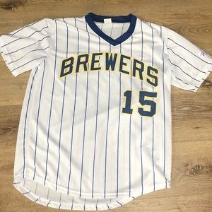 Cecil Cooper Replica Jersey Giveaway Jersey